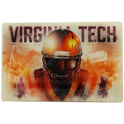 Virginia Tech Acrylic Football Player Wall Art