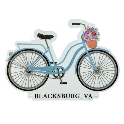 Blacksburg Seasons Designs Bike Rugged Sticker