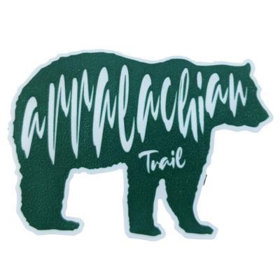Appalachian Trail Seasons Designs Bear Rugged Sticker