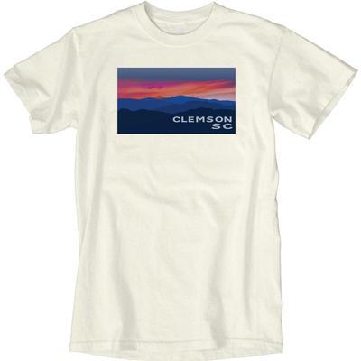 Blue 84 Clemson Cogwheel Mountains Short Sleeve Tee