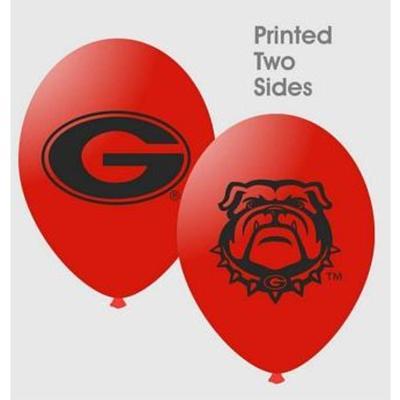 Georgia 10 pack Latex Balloons