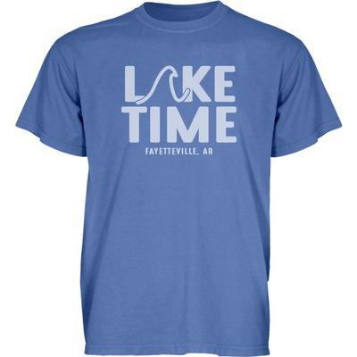 Arkansas Blue 84 Lake Time Short Sleeve Tee