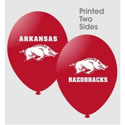 Arkansas 10 pack Latex Balloons
