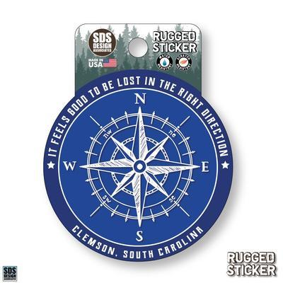 Seasons Design Clemson Compass 3.25