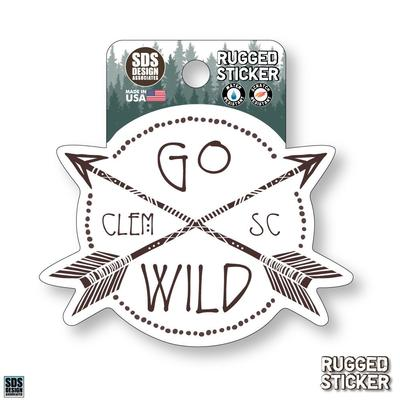 Seasons Design Clemson Go Wild 3.25