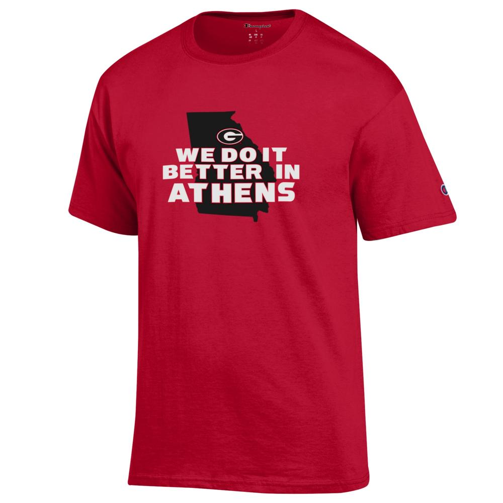 Georgia Champion We Do It Better In Athens Tee