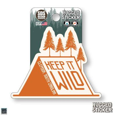 Seasons Design Clemson Keep It Wild 3.25