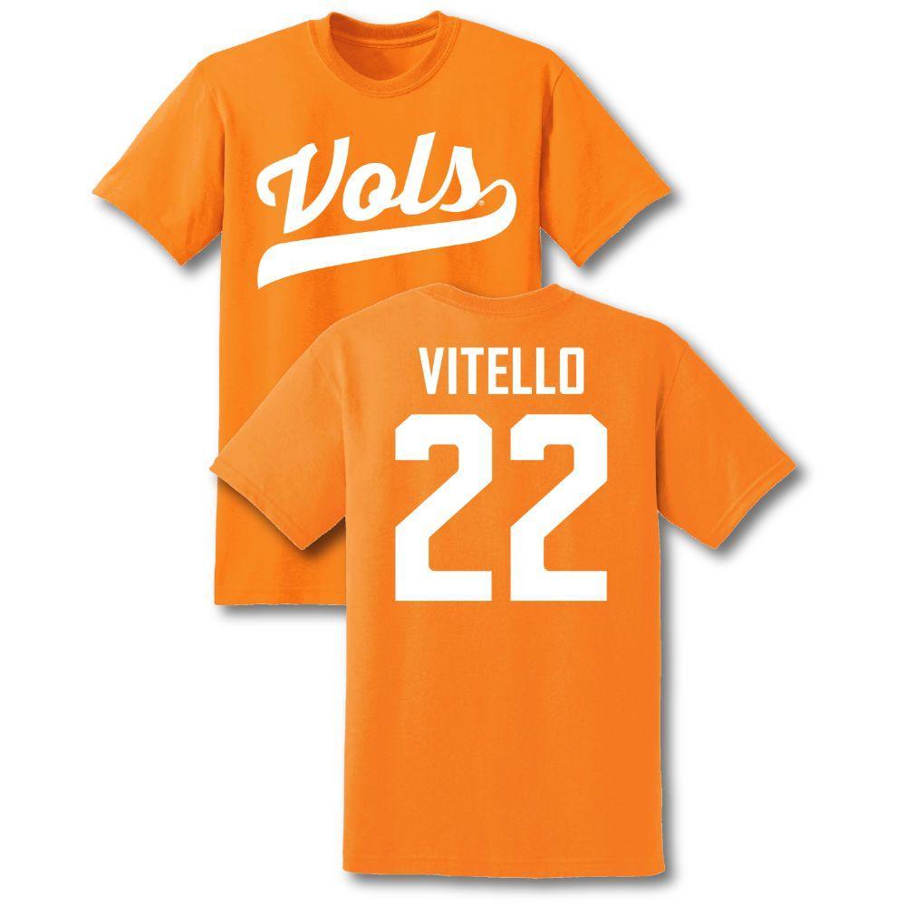 Youth Tony Vitello Tennessee Baseball Jersey Tee