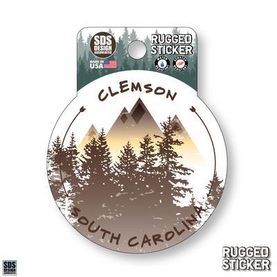 Seasons Design Clemson Mountain Circle 3.25