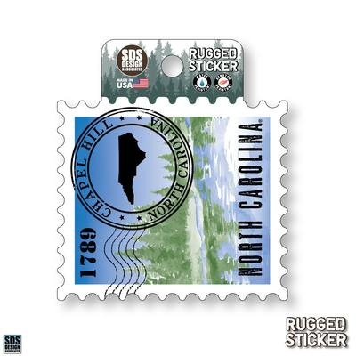 Seasons Design Chapel Hill State Stamp 3.25