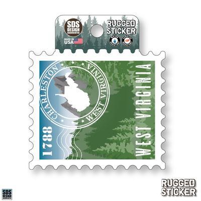 Seasons Design Charleston State Stamp 3.25