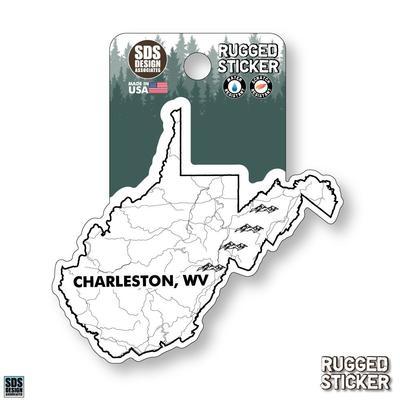 Seasons Design Charleston State Map 3.25