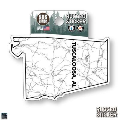 Seasons Design Tuscaloosa State Map 3.25