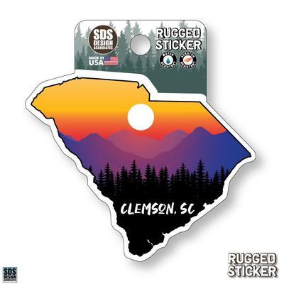 Seasons Design Clemson State Sunset 3.25