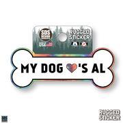 Seasons Design My Dog Loves Al 3.25