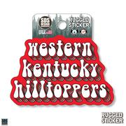 Seasons Design Western Kentucky School Mascot 3.25