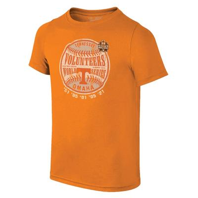 Tennessee YOUTH College World Series Bound Baseball Tee