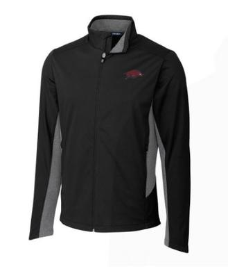 Arkansas Cutter & Buck Big & Tall Navigate Softshell Jacket