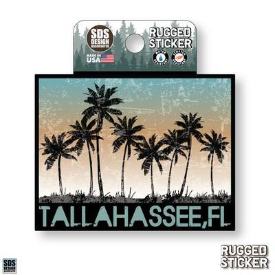 Seasons Design Tallahassee Sunset Palm Trees 3.25