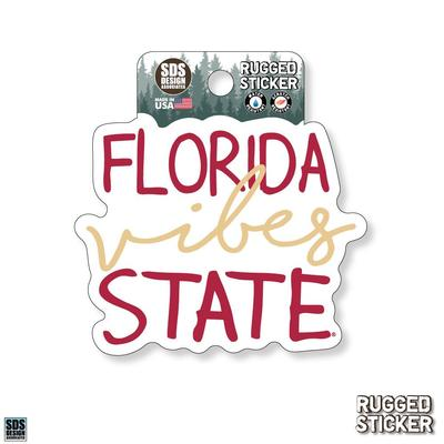Seasons Design Florida State Vibes Script 3.25