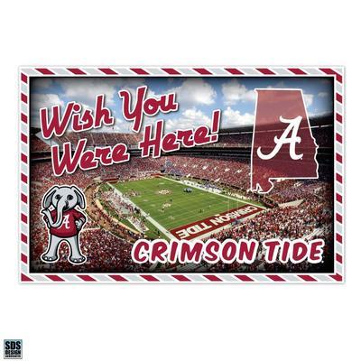 Alabama Seasons Design Wish You Were Here 3.25