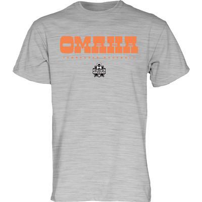 Tennessee Omaha Baseball Font Tee
