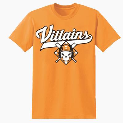 Tennessee Vols Baseball Villains Short Sleeve T Shirt