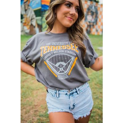 Tennessee Southern Made Women's Lindsey Nelson Stadium Tee