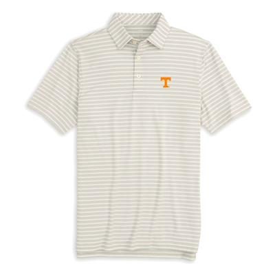 Tennessee Southern Tide Ryder Stripe Performance Polo
