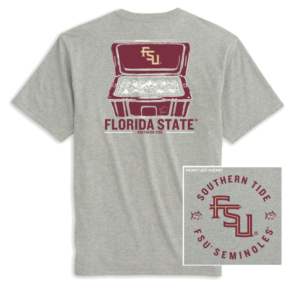 Florida State Southern Tide Cooler Short Sleeve Tee