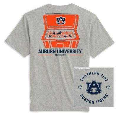 Auburn Southern Tide Cooler Short Sleeve Tee
