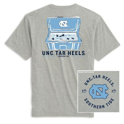 UNC Southern Tide Cooler Short Sleeve Tee