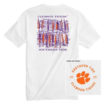 Clemson Southern Tide Lures Short Sleeve Tee