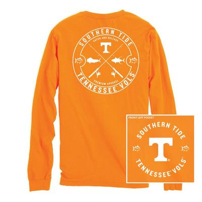 Tennessee Southern Tide Catch Release Long Sleeve Tee