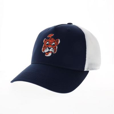 Auburn Legacy Vault Cartoon Tiger Trucker Hat