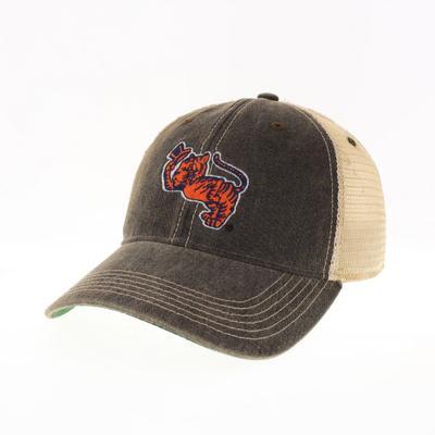 Clemson Legacy Vault Gentleman Tiger Logo Trucker Hat