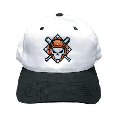 Tennessee Baseball Logo with Cross Bats 2-Tone Snapback Adjustable Hat