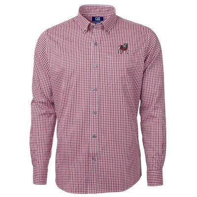 Georgia Cutter & Buck Big & Tall Versatech Multi Check Dress Shirt
