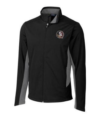Florida State Cutter & Buck Big & Tall Navigate Softshell Jacket