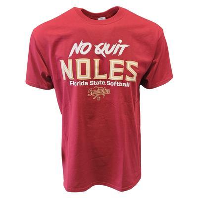 Florida State Softball No Quit Noles T-Shirt