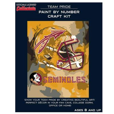 FSU Paint by the Numbers Kit