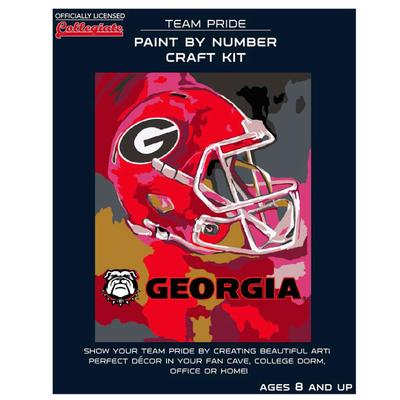 Georgia Paint by the Numbers Kit