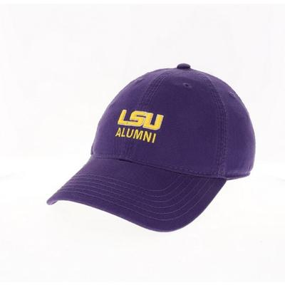 LSU Legacy Alumni Logo Adjustable Hat