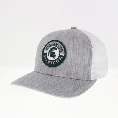 Michigan State Legacy Road Patch Circle Trucker Hat