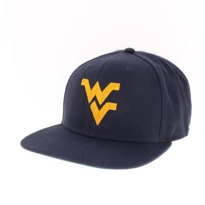 West Virginia Legacy Flat Brim WV Logo Hat