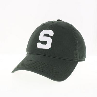 Michigan State Block S Logo Adjustable Hat