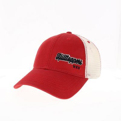 Western Kentucky Legacy Women's Script Left Hit Trucker Hat