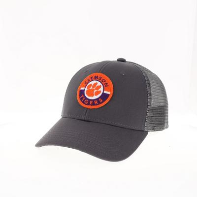 Clemson Legacy YOUTH Road Patch Trucker Hat