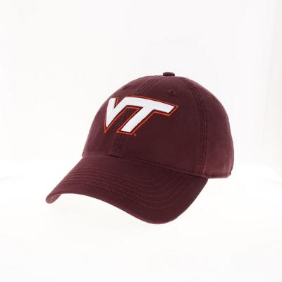 Virginia Tech Legacy YOUTH VT Logo Adjustable Hat