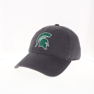 Michigan State Legacy YOUTH Spartan Helmet Logo Adjustable Hat